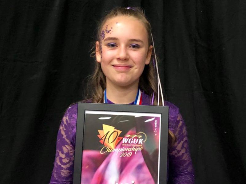 kyla at dance finals